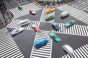 Vorfahrtsregeln sollen an Kreuzungen den Verkehr ordnen.