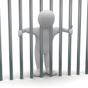 Die Geldbuße bei einer Ordnungswidrigkeit kann im Gegensatz zu Straftaten nicht in eine Haftstrafe umgewandelt werden.
