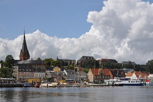 Im Kreis Flensburg liegt eine Bußgeldstelle für Schleswig-Holstein.