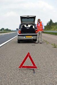 Geschieht ein Autobahn-Unfall, ist die Stelle abzusichern.