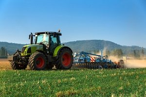 Auch ein Traktor kann in Unfälle verwickelt werden.