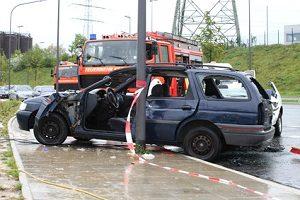 Riskante Überholmanöver können zu einem Traktorunfall führen.