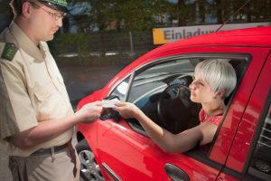 Der Führerschein kann auch im Ausland eingezogen werden.
