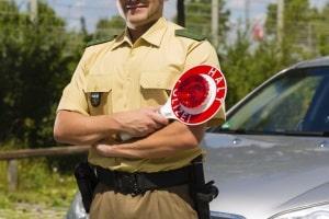 Wollen Sie die Abstandsmessung anfechten, können Sie das kontrollierende Personal prüfen.