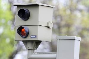 Stationäre Blitzer werden oft für die Geschwindigkeitsmessung eingesetzt.