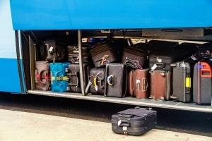 Der Bus muss auch wichtige Regeln zur Ladung beachten - z. B. zur Menge des Gepäcks.