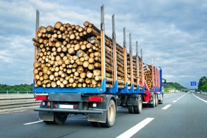 Bei falscher Ladungssicherung oder Überladung ist laut Bußgeldkatalog für Lkw ein Bußgeld angesetzt.