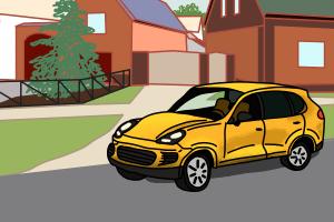 Ein fremdes Auto parkt in Ihrer Einfahrt? Sie können den Autohalter ermitteln.