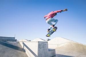 Für Skateboarder gibt es kein Alkohollimit.