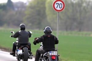 Promillegrenze: Auf dem Motorrad gelten die allgemeinen Regelungen.