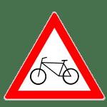 Zeichen 138: Fahrradfahrer